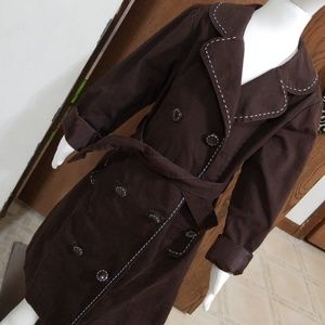 🔆Girl's double breasted trench coat